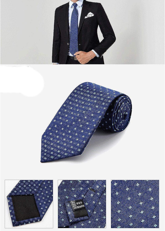 Tie MenS Silk Tie Classic Necktie for Wedding Business Gift formal Dress