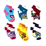 My Little Pony Baby 6 pk No Show Socks (6-12 Months, All Ponies)
