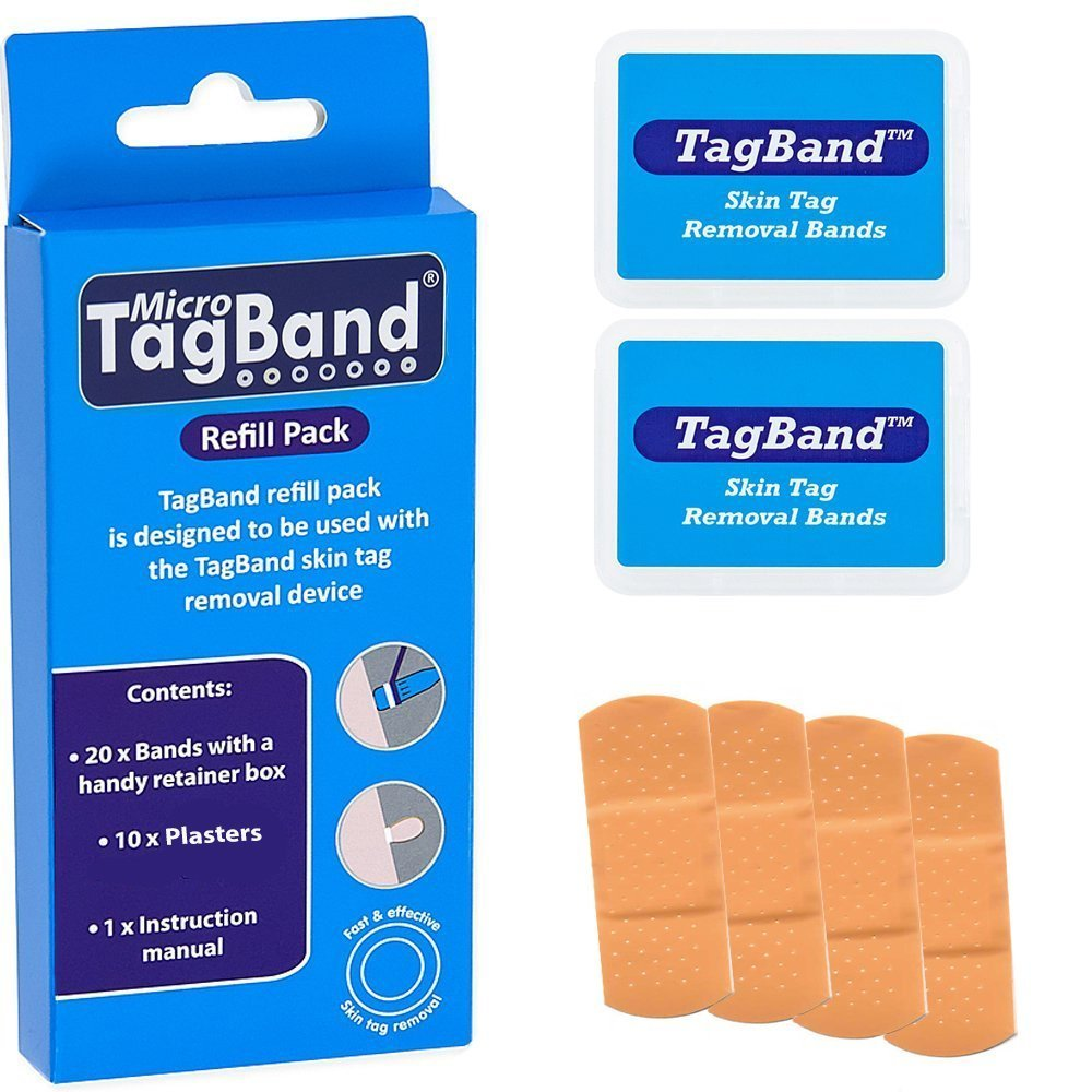 Micro TagBand Refill Band Pack for Skin Tag Remover Device UK Innovations GP Ltd