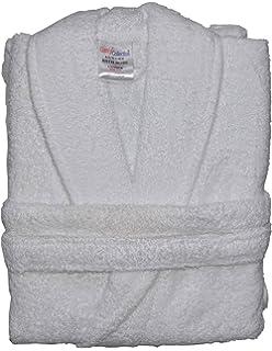 Albornoz unisex 100% algodón, tejido de rizo, 4 colores