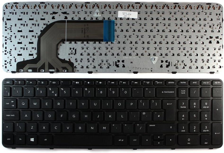 HP Pavilion 15-N234SA Keyboards4Laptops UK Layout Black Frame Black Windows 8 Laptop Keyboard for HP Pavilion 15-n232TX HP Pavilion 15-n233TX HP Pavilion 15-N233SL HP Pavilion 15-N233CA