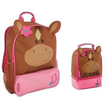 Amazon.com: Stephen Joseph Sidekick Horse Backpack and Lunch Box ...