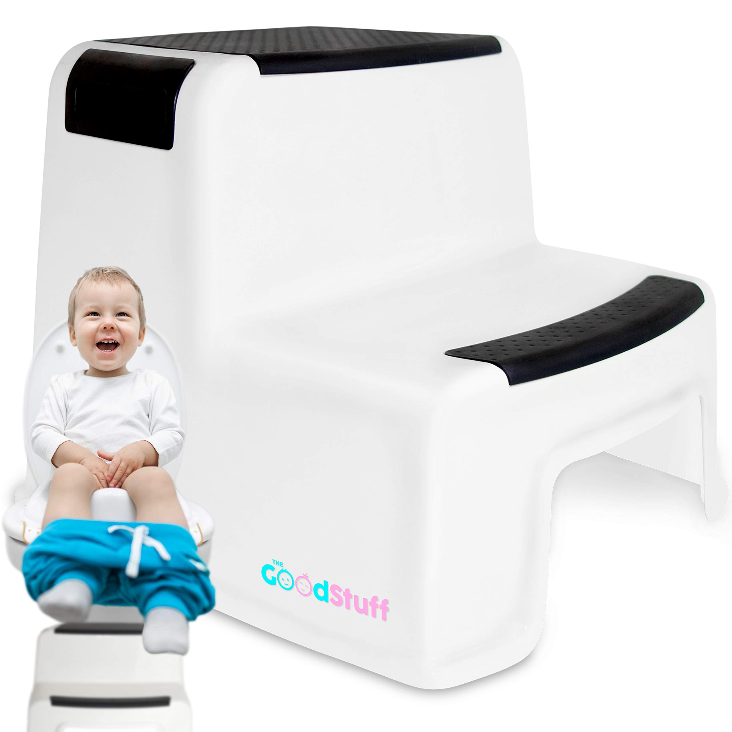 Toddler Step Stool for Kids - Potty Training Step Stool Bathroom ...