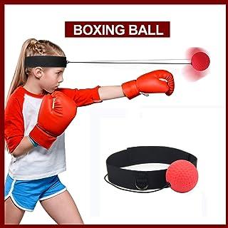 KANKOO Ball Boxe Entraînement MMA Fight Reflex Vitesse Chaîne Élastique Bandeau Équipement De Gym Super Formation Fitness MMA Autres Arts Martiaux Combat Sports Cadeau