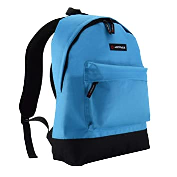 Amazon.com | Airwalk Backpacks Bag Rucksack Skateboarding Skate Bag H:40 x W:30 x D:12 (cm) Sky Blue | Kids Backpacks
