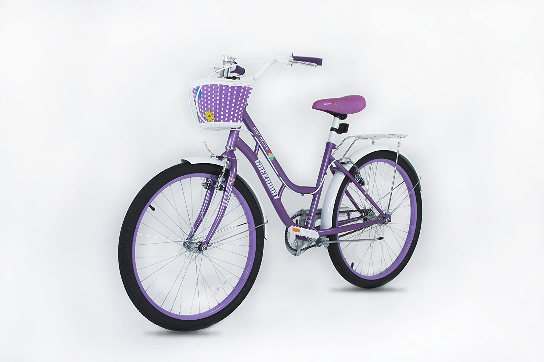 Bicicleta de 24 pulgadas para niñas - Apto para niños mayores de 9 ...
