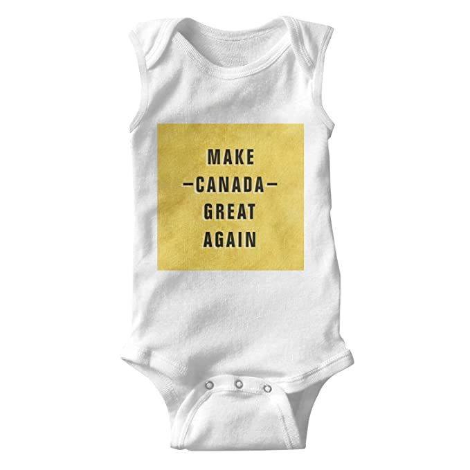 Amazon Com Bbabylike Make Canada Great Again Cool Design Baby Girl