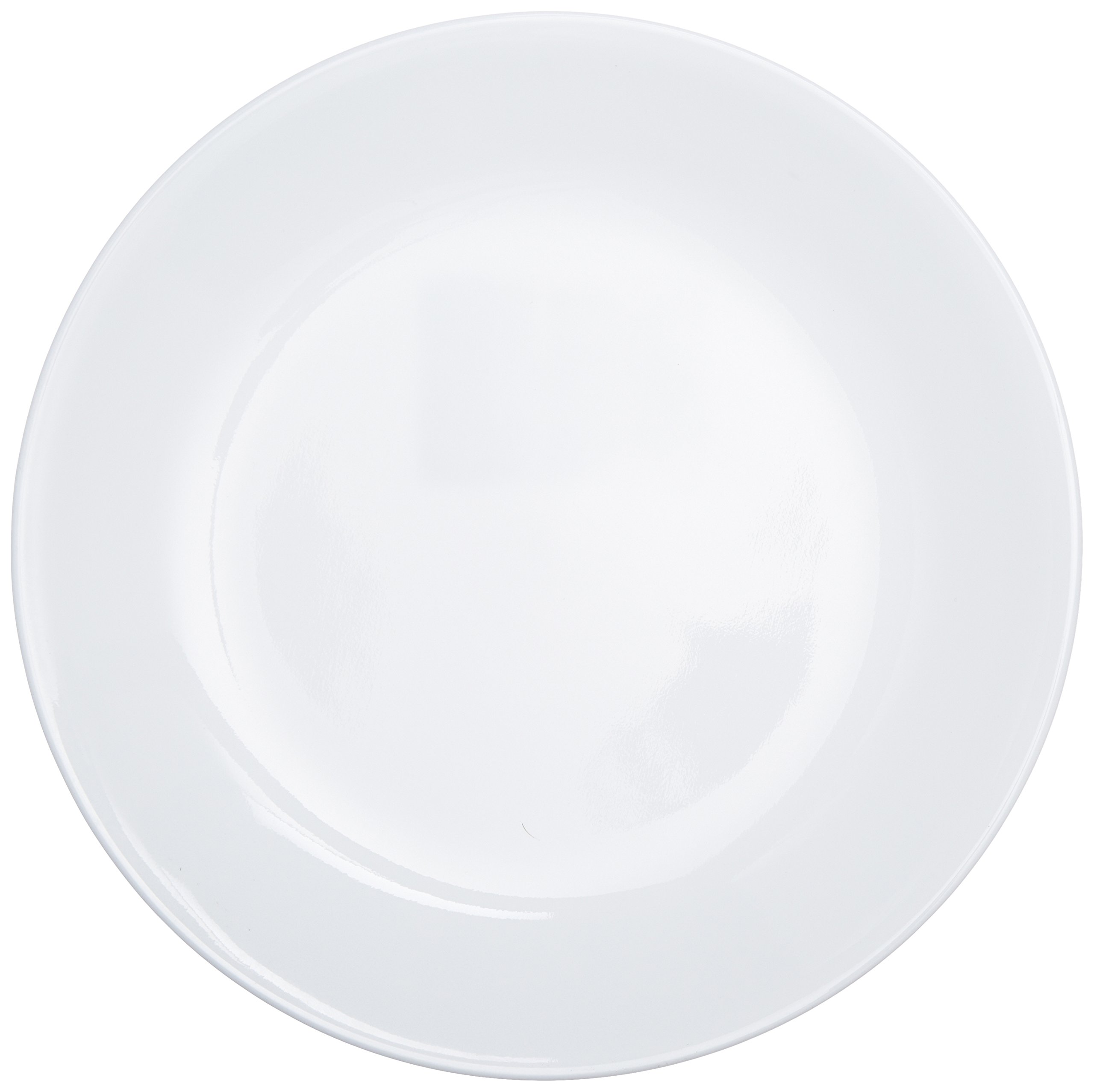 ordinary Corelle Luncheon Plates Open Stock Part - 2: Corelle Livingware Luncheon Plate, Winter Frost White, Size: 8-1-2-Inch,  Set of 6 Plates