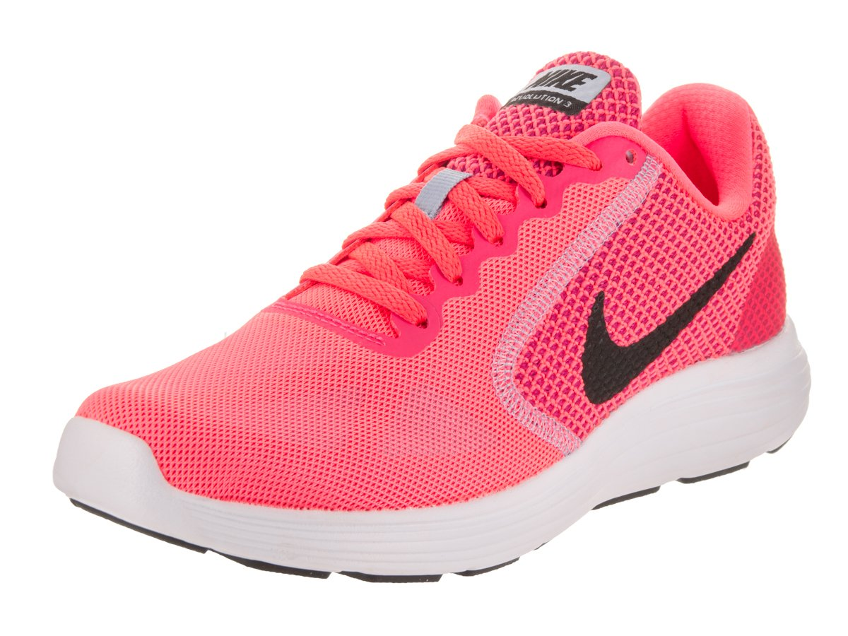 Nike Damen Wmns Revolution 3 Laufschuhe Pink (Hot Punch / Black / Aluminum / White 602)