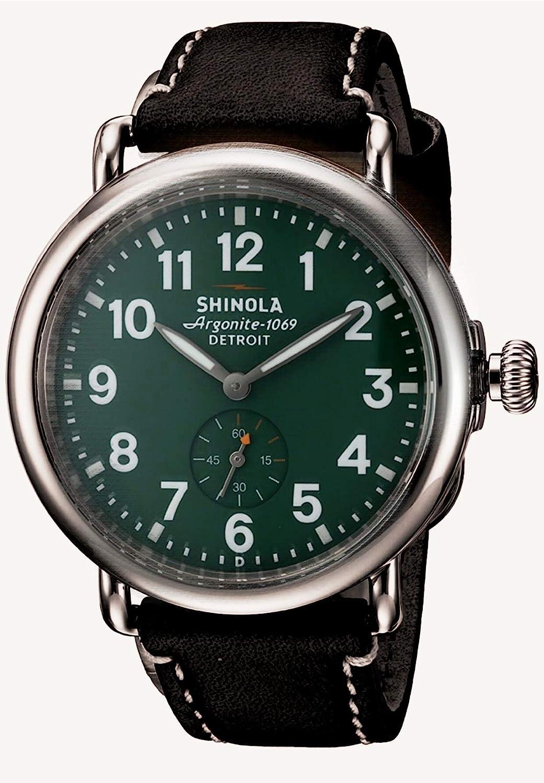 Reloj esfera verde