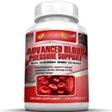 Natural Blood Pressure Supplement Pills To Lower High Blood Pressure With Vitamins And Herbs Formula. Garlic Hawthorne Berry Hibiscus For Healthy Blood Pressure Level. Help Improve Blood Circulation.