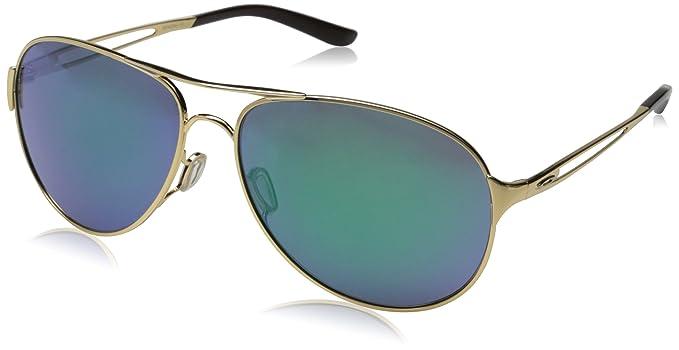 e50e29991d Oakley Caveat Sunglasses Polished Gold Jade Iridium  Amazon.co.uk ...