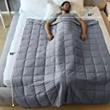 Lapsuus Weighted Blanket for Adult 20lb,60''x