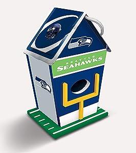 "MasterPieces NFL 8"" x 5"" Wood Birdhouse"