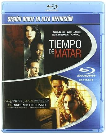 Pack: Tiempo De Matar + El Informe Pelícano [Blu-ray]: Amazon.es ...