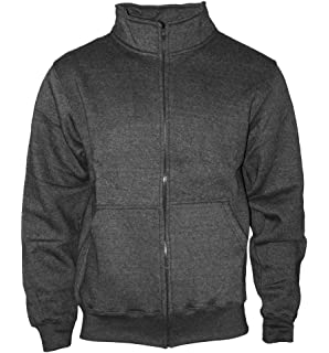 quality design 1d567 d569a Happy Clothing Herren Sweatjacke ohne Kapuze Zip-Jacke ...