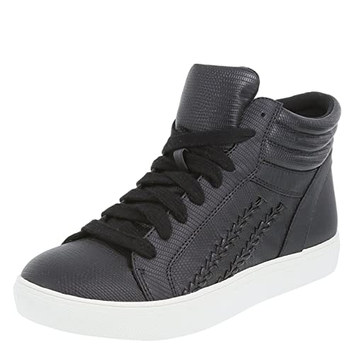 e3bd21355b7c Brash Women s Black Fletcher High-Top Sneaker 7 Regular  Amazon.ca ...