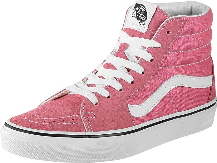 Vans Unisex-Erwachsene SK8-Hi Hohe Sneakers Pink Rosa