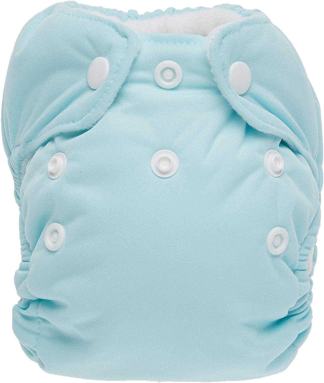 Newborn Aqua Thirsties Snap All in One Diaper