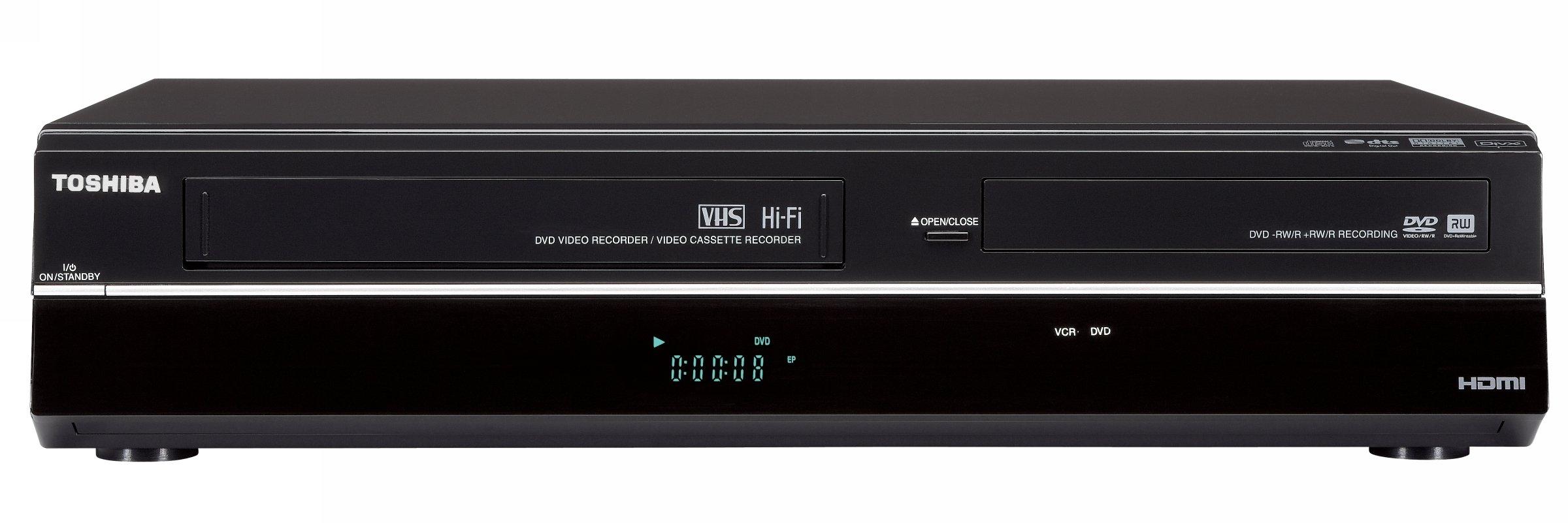 Toshiba DVR670/DVR670KU DVD/VHS Recorder with Built in Tuner, Black (2009 Model)