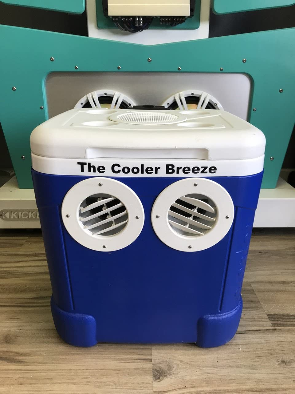 Cooler Breeze Portable AC Air Condition Cooler Ice Chest