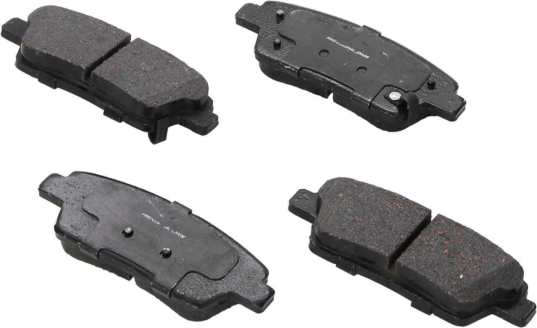 ACDelco 14D1551CH Advantage Ceramic Rear Disc Brake Pad Set
