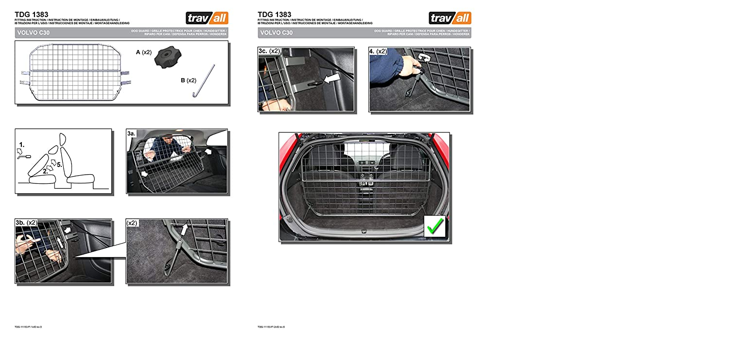 Vehicle-Specific Dog Guard Travall Guard TDG1383