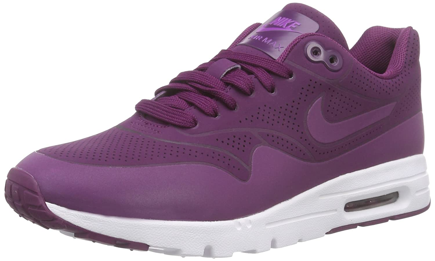 Amazon.com | Nike Women's Air Max 1 Ultra Moire Mulberry/Mlbrry/Prpl  Dsk/White Running Shoe 6.5 Women US | Road Running