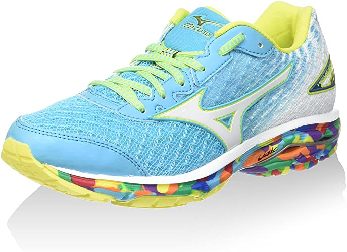 Mizuno Zapatillas de Running Wave Rider Osaka Wos Cielo/Blanco/Multicolor EU 39 (US 8.5): Amazon.es: Zapatos y complementos
