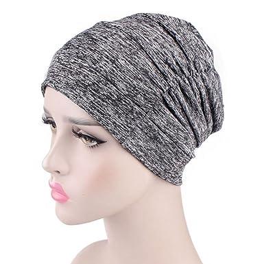 23aaa163228 Lunji Baggy Soft Chemo Hat Headwear