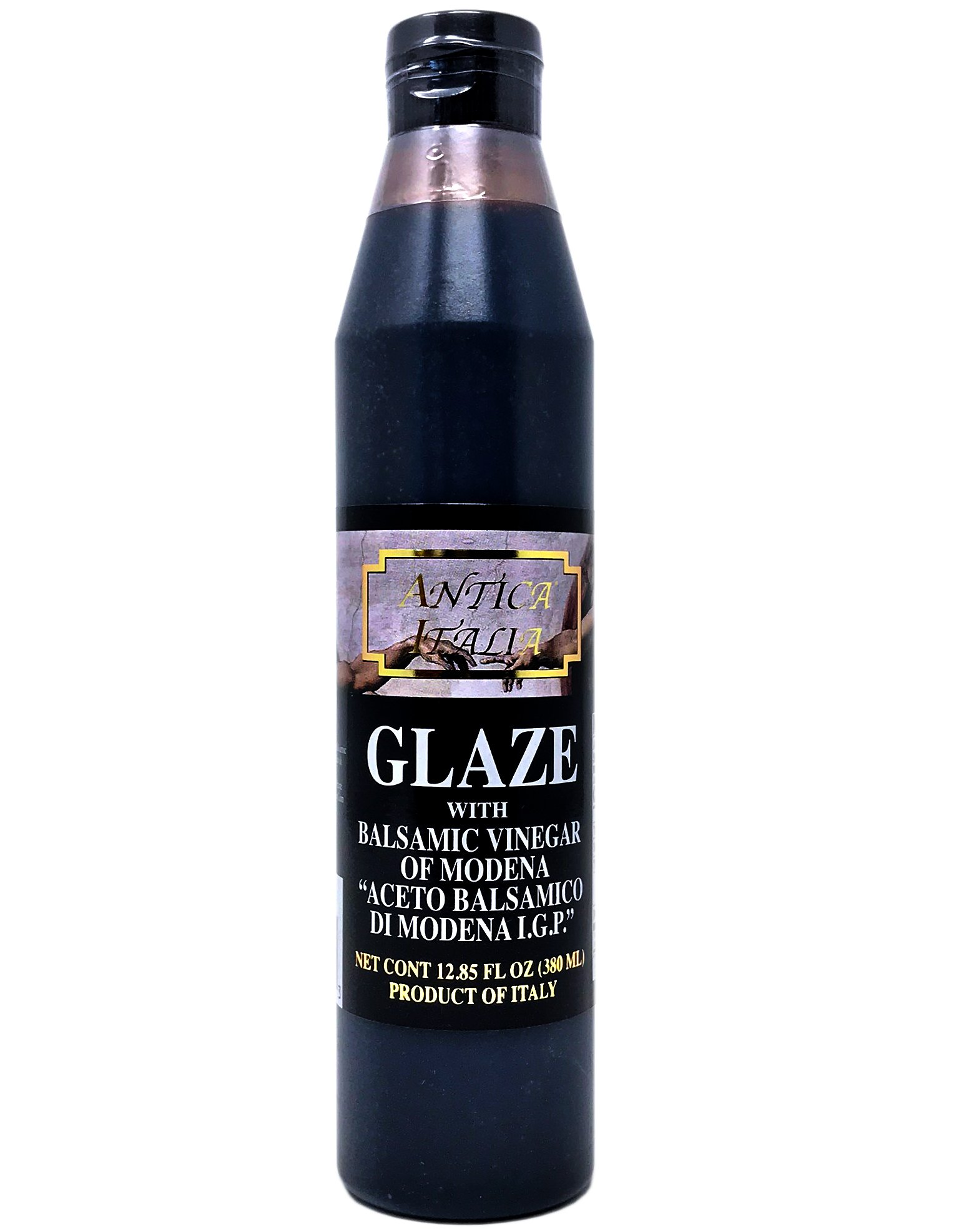 Antica Italia Balsamic Vinegar of Modena Italian Glaze, 12.85 Ounce, From Italy