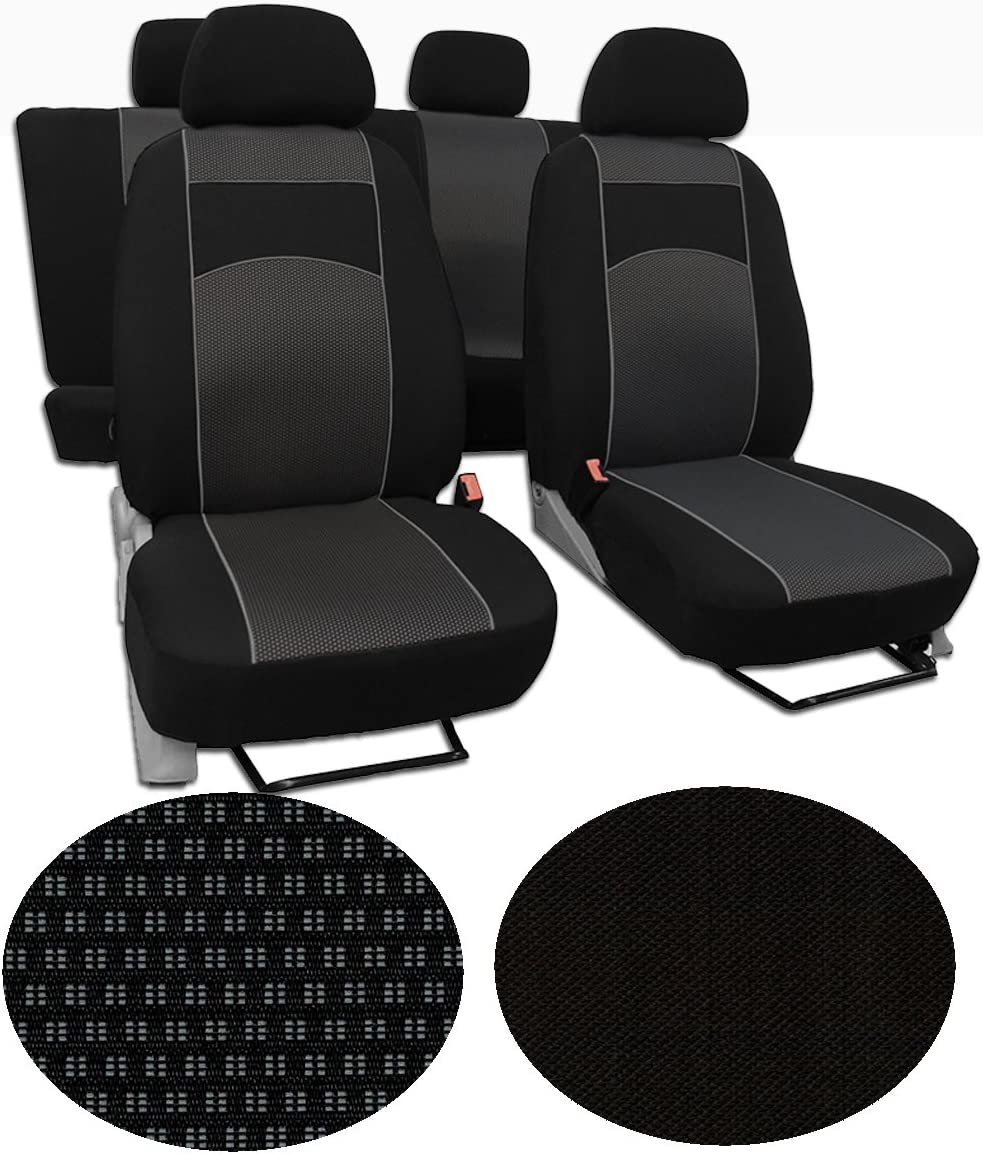 EJP Ma/ßgefertigter Autositzbezug F/ür FIAT Talento 8-Sitze ab 2016 Beste Qualit/ät Sitzbez/üge//Busbez/üge im Design VIP-1 erh/ältlich in 5 Farben und 9 Mustern
