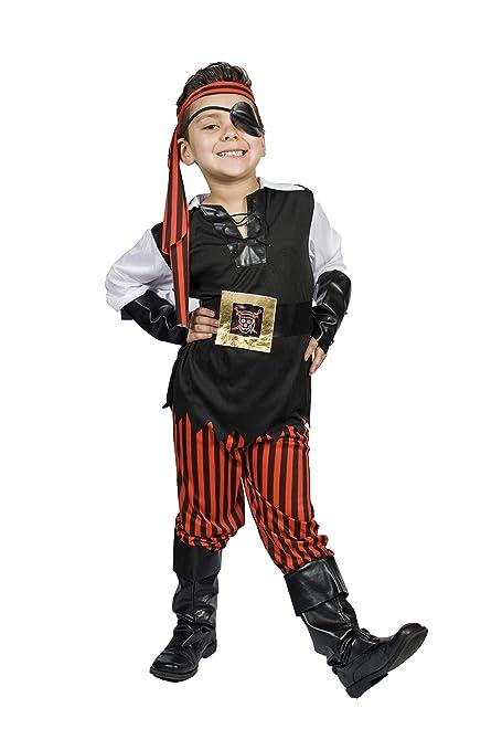 277b7ce16b9 Kids Child Boys Pirate Halloween Costume, Size M 5,6,7,8 Years Old ...