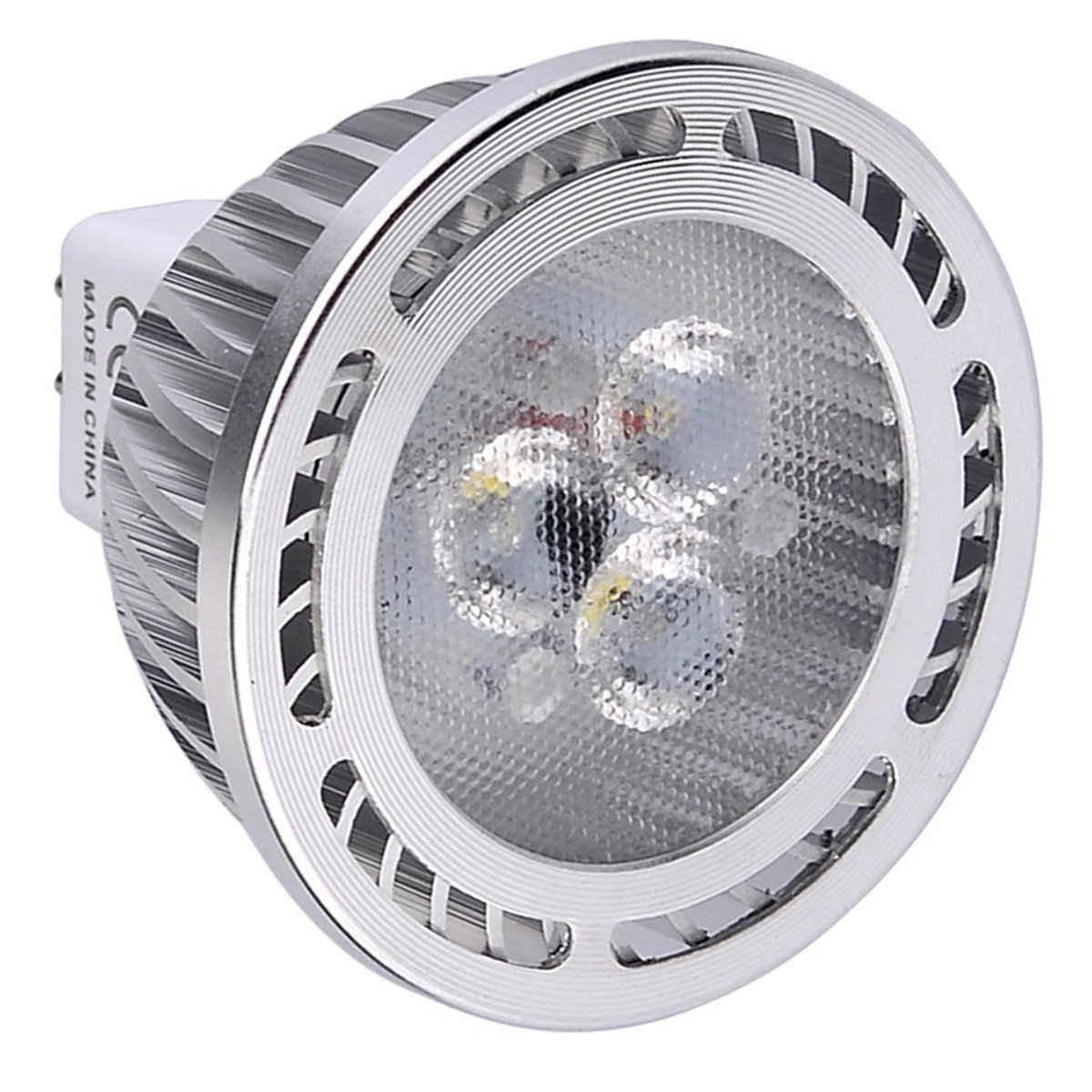 BMY Home Led bulbs,MR16 3W SMD 3030 200-300 LM Warm White/Cool White Frosted LED Spotlight AC/DC 12V (1Pcs) Lights Bulbs (Size : Warm White)