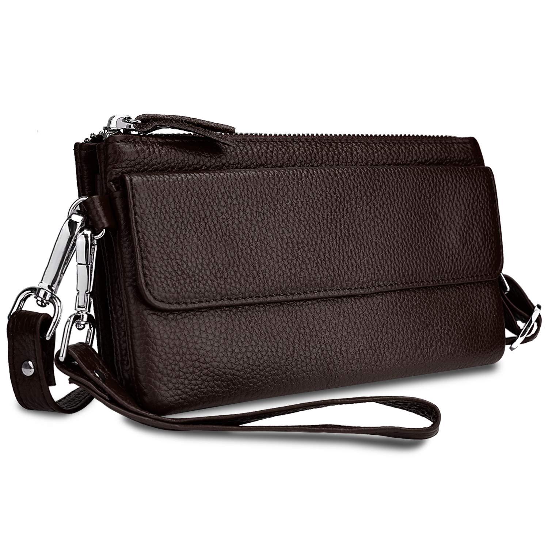 YALUXE Women's Leather...