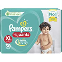 Pampers New Diapers Pants, X-Large (38 Count)
