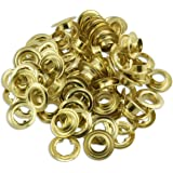 """50pc Quality Brass 1/2"""" Grommets - Tarps, Canvas, Covers"""