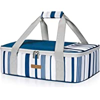LUNCIA Insulated Casserole Carrier for Hot or Cold Food, Lasagna Lugger Tote for Potluck Parties/Picnic/Cookouts, Fits 9…