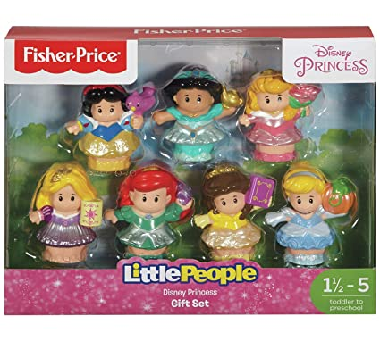 866602cacca6 Amazon.com  Fisher-Price Little People Princess Figure Pack  Toys ...