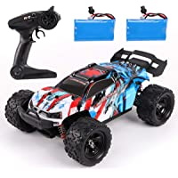 REMOKING RC Car,36KM/H High Speed RC Truck,1/18 Scale 2.4Ghz Remote Control Racing Car Toy ,4X4 Radio Controlled Off…