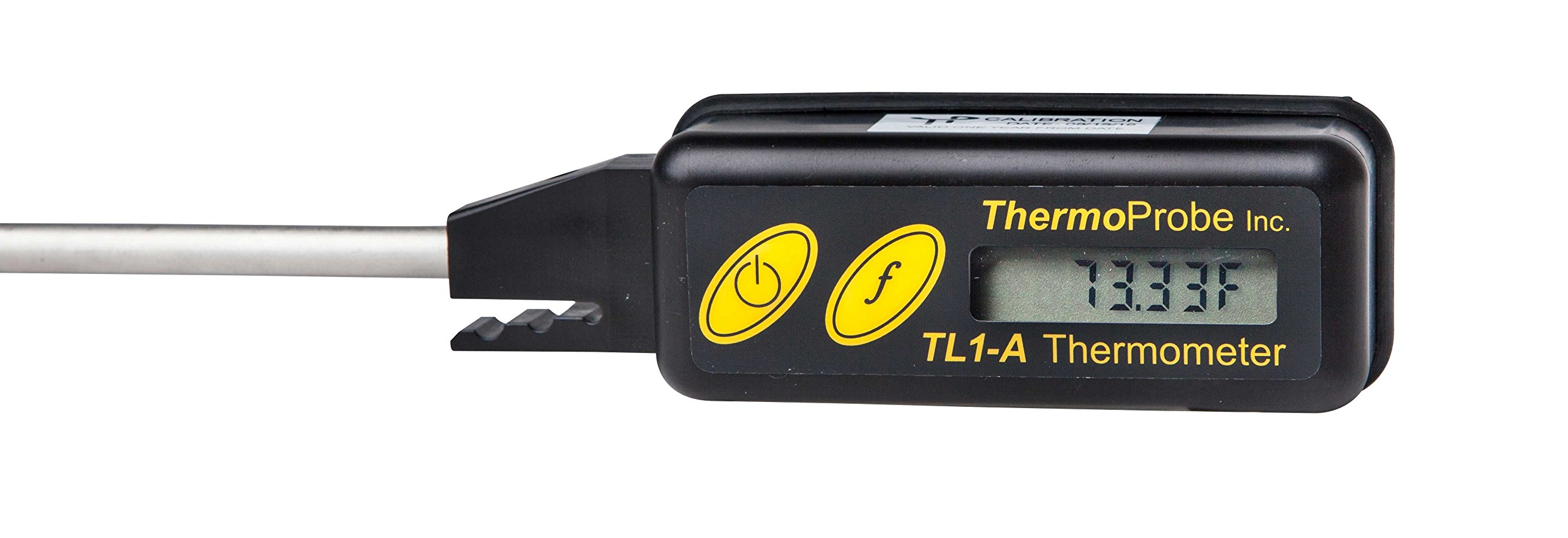 TL-1A Intrinsically Safe Digital Thermometer with 12'' Stem and NIST traceable, ISO/IEC 17025 Accredited Report of Calibration in Celsius