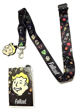 Amazon.com: Fallout 4 vault-tec Boy Emoji Encanto y cordón ...