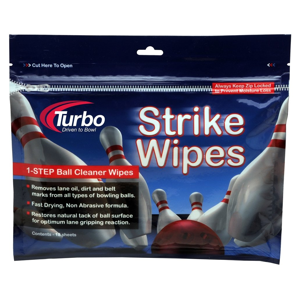 Turbo Grips Strike Wipes Ball Cleaner