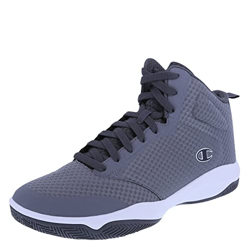 Champion Men's Grey Men's Inferno Basketball Shoe 6 Regular