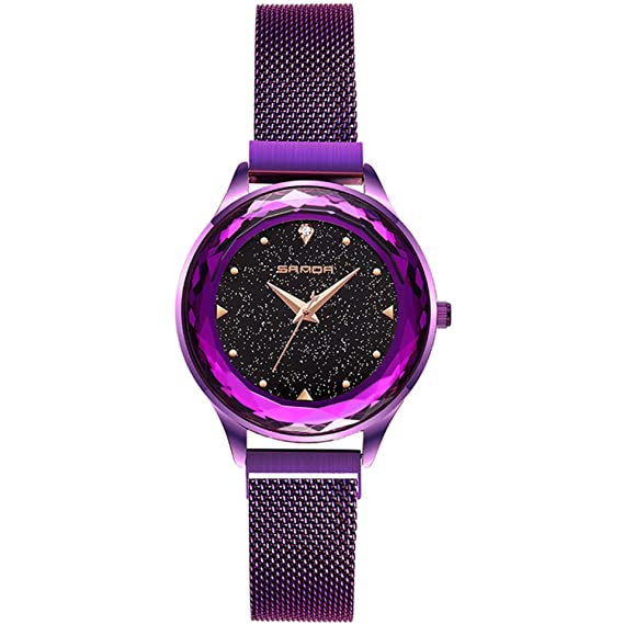 Fashion Armbanduhren Sternenklarer Himmel Rorios Damenmädchen Dial CrQdxBoeW
