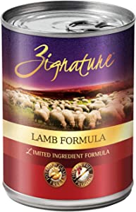 (12 Pack) Zignature Grain-Free Lamb Canned Dog Food 13 Ounces each