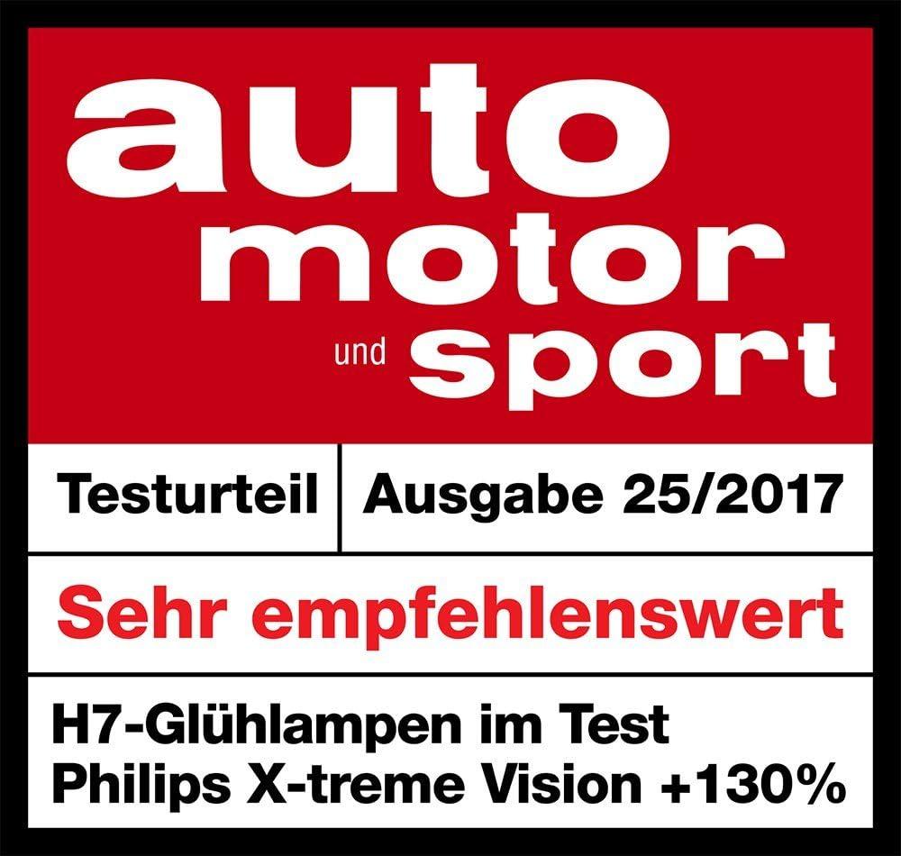 130/% H1 Scheinwerferlampe 12258XV+B1 Einzelblister Philips X-tremeVision