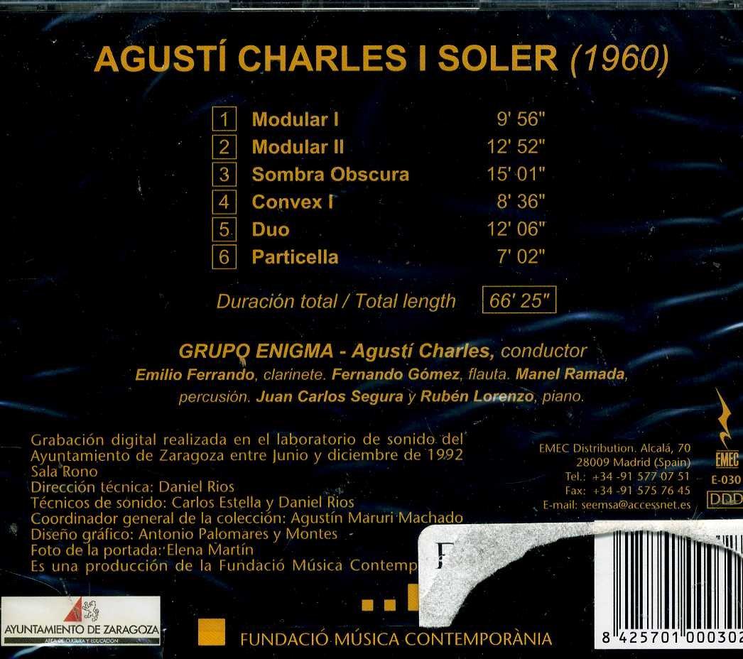 Amazon.com: Agusti Charles: Modular I y II; Sombra Obscura ...
