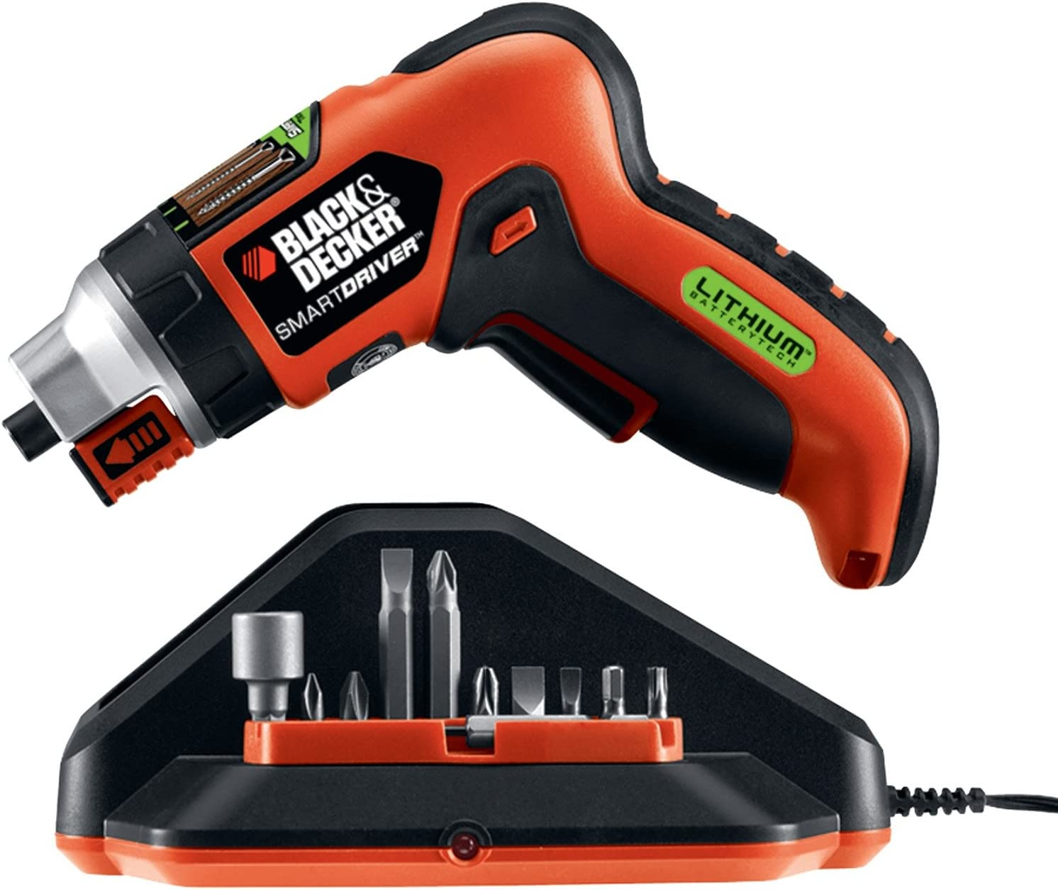 Black & Decker LI4000 Lithium Power Screwdriver W/Screw Holder & LED Worklight Tools , Hand Tools