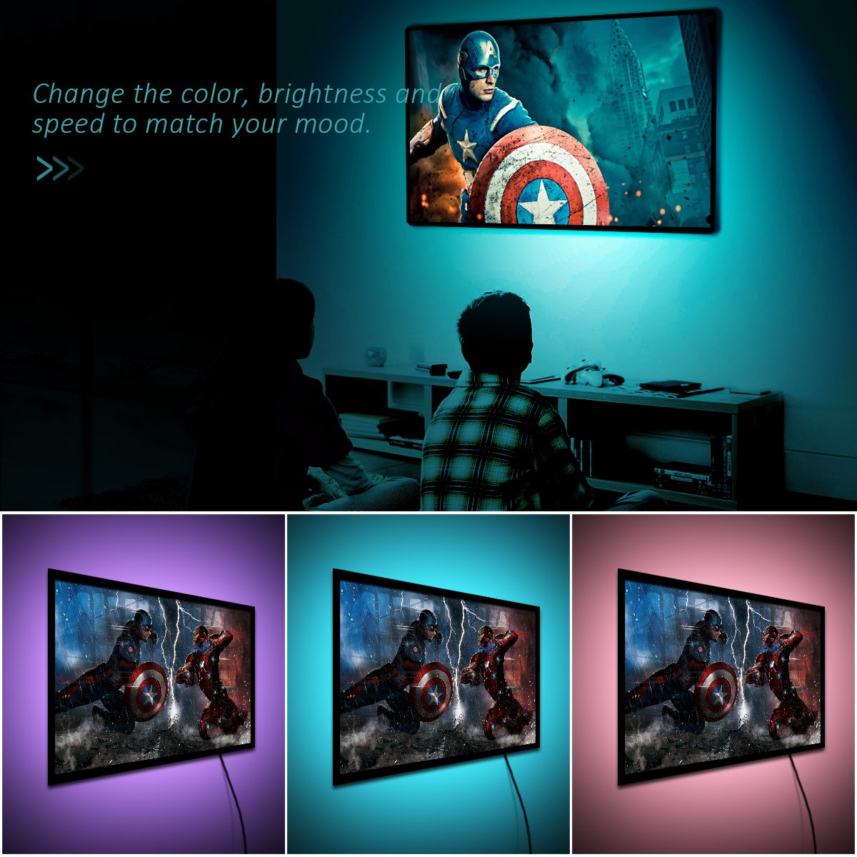 VICTSING LED TV Backlight Strip